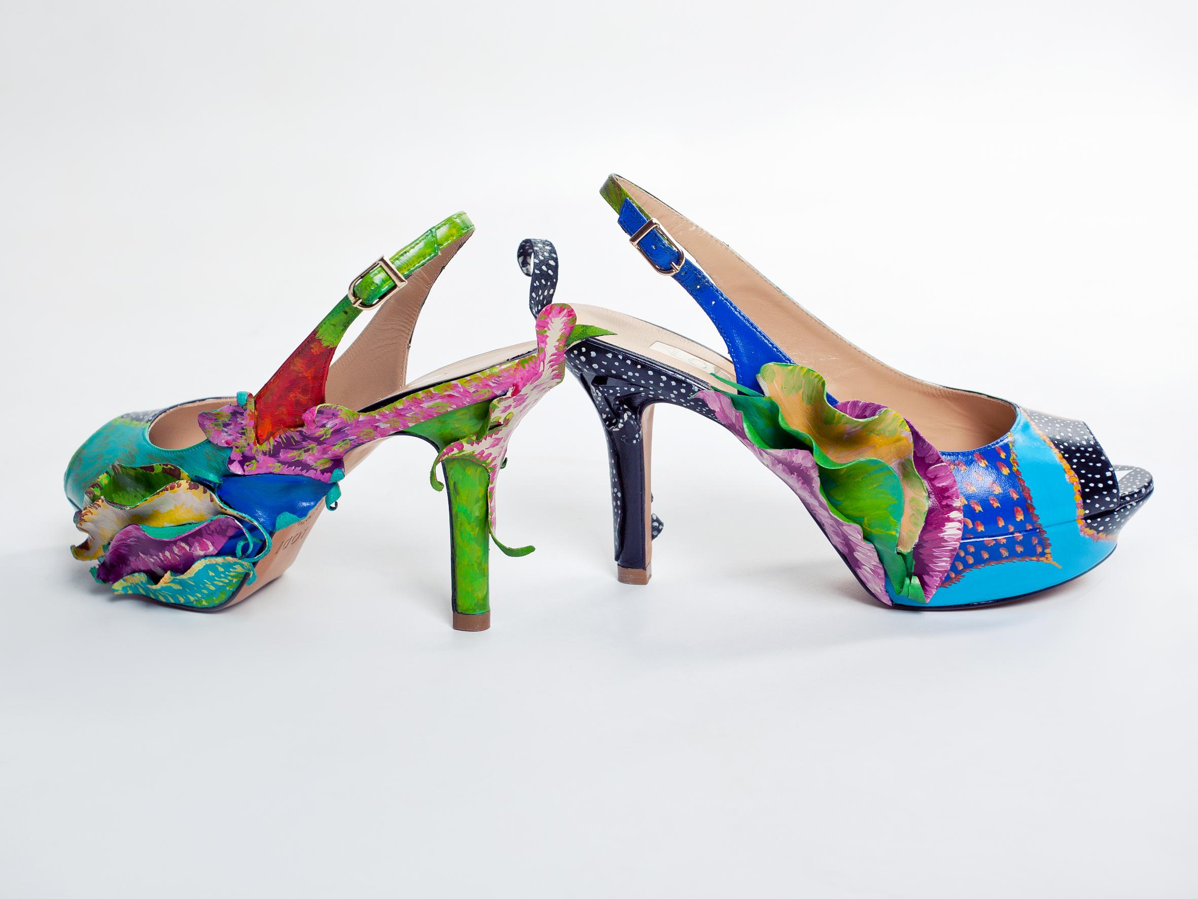 A Terelu Mano Para CamposBlogbeatrizsoto Zapatos Pintados Lc45qAR3j
